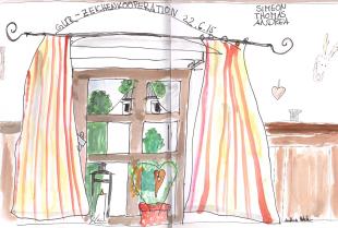 Zeichnen im Wirtshaus2-Gemeinschaftswerk